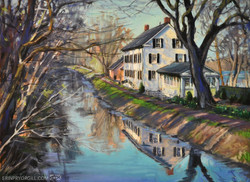 Erin Gill - Early Spring Along the Delaware Canal