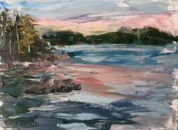 Maggie Capettini - Salmon Skies