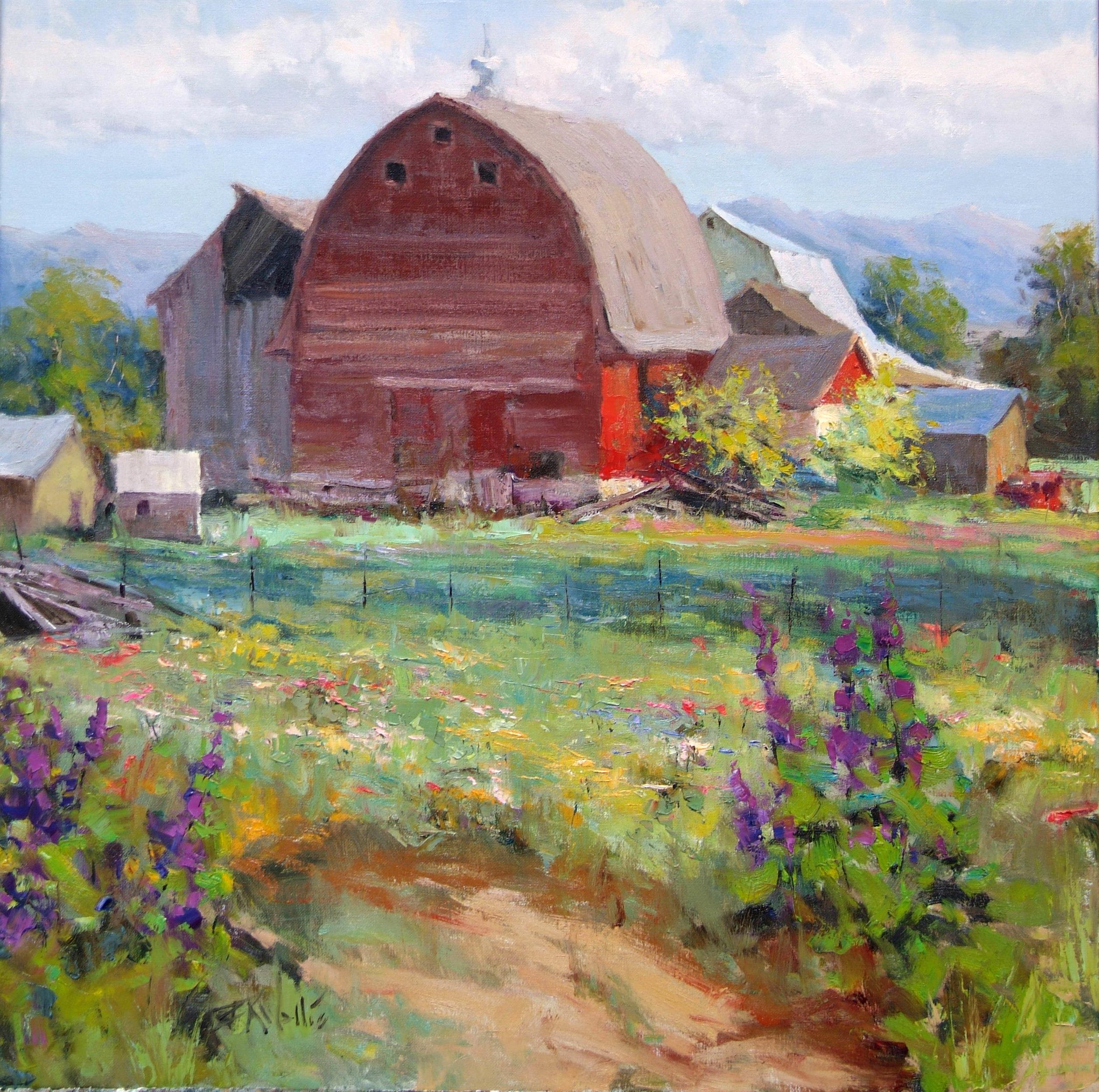 Eric Wallis - Old Red Barn