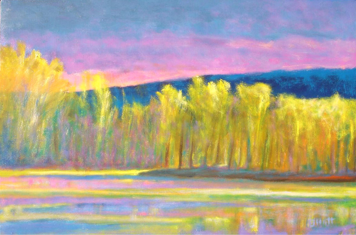 Ken Elliott - Yellow Trees, Yellow Lake.jpg