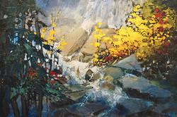 Linda Wilder - Cascading Yellows