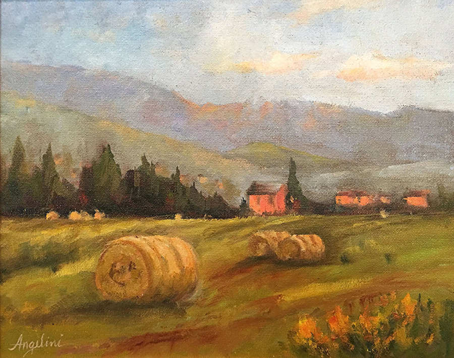 Nancy Angelini Crawford - Tuscan Rolling Hills