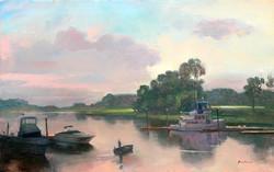 Keith Gunderson - Milton Boatyard at Rye New York