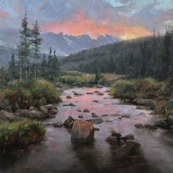 Dave A. Santillanes - Indian Peaks Sunset.jpg