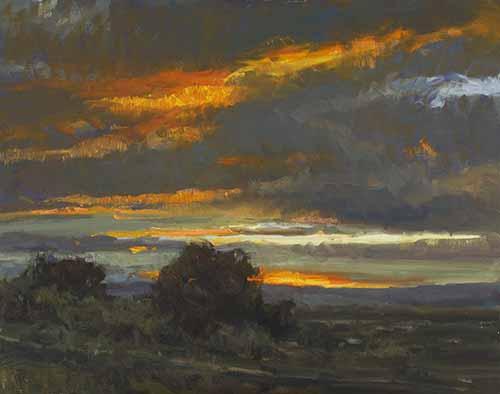 Howard Friedland - Evening Turns to Night
