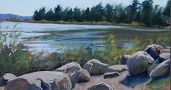 Louise Pond - Nine Mile Point Beach