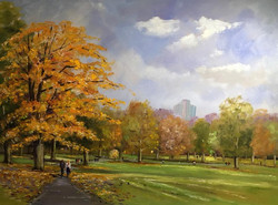 Mike Samson - Autumn Strolling in Green Park, London
