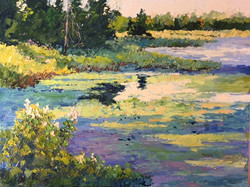 Ginny Takacs - Summer Pond