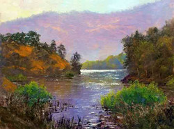 Donald Neff - Morning at Almaden Reservoir