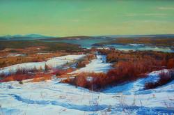 Josh Adam - Winter View from Blue Hill Mountain