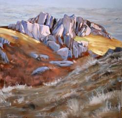 David Barber - Rocks at Coniston Old Man