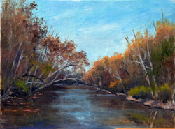 Tamar Rudavsky - Sycamores on the Olentangy