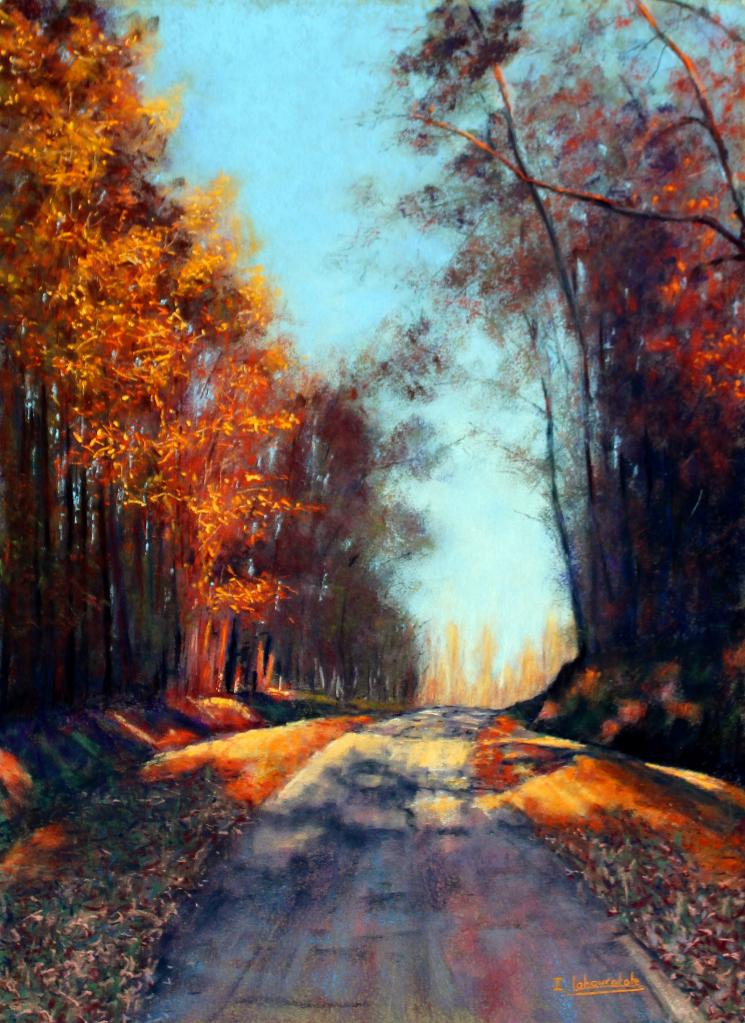 Isabelle Lahouratate - Autumn Road