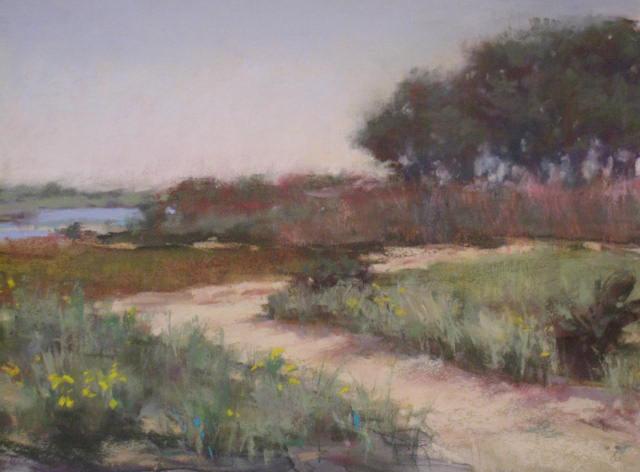 Jeanne Tangney - Summer Path (plein air)