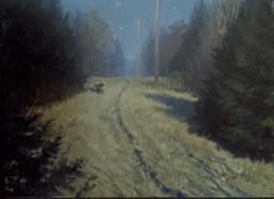 John Hulsey - Nocturne, The Visitor