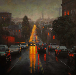 Gavin Glakas - View Of The Washington Monument From 13th Street