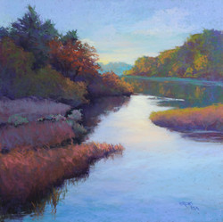 Jean Hirons - Morning on the River