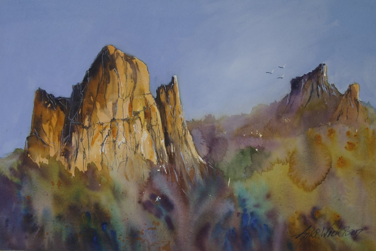 Anki Wickison - Cathedral Rock