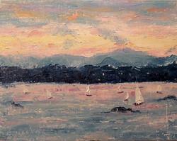 Karla Nolan - Sailing at Sunset II