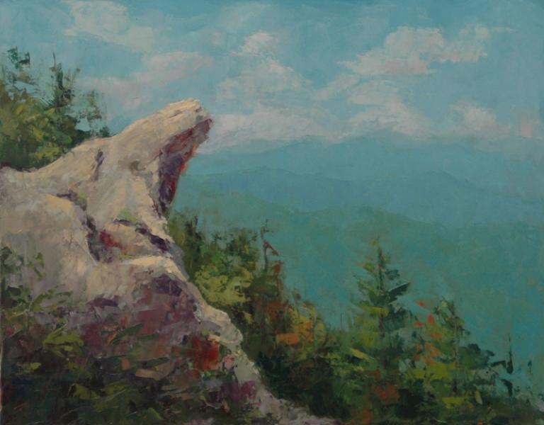 Robin Wellner - Blowing Rock Vista