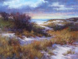 Lana Ballot - Smith Point Dunes in Winter