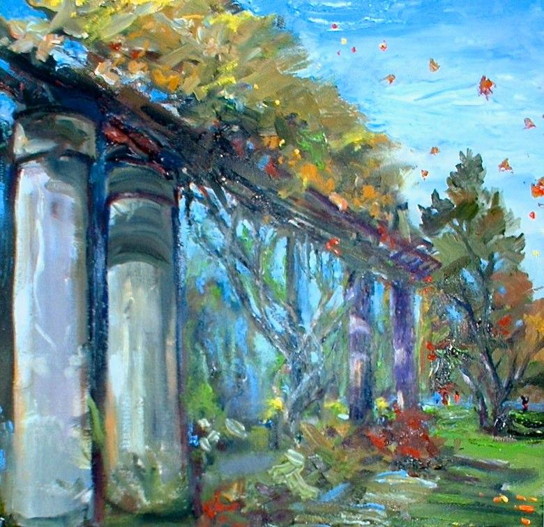 Carmen Corrigan - Autumn Leaves at Wave Hill