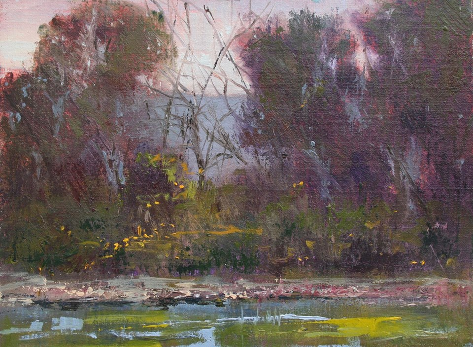 JoAnne Wood Unger - Edge of the Creek