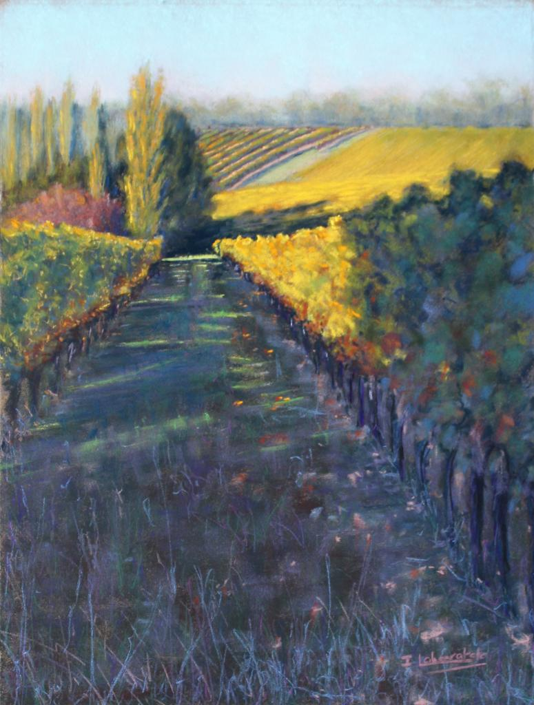 Isabelle Lahouratate - Vines and Poplars