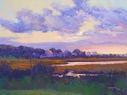 Jean Hirons - Sunrise from Crescent Beach