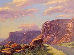 Philip Alexander Carlton - 212 Sunset (plein air)
