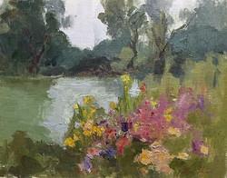 Oksana Johnson - A Spring Day in the Park