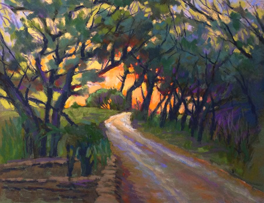 Mike Etie - Back-lit Trail