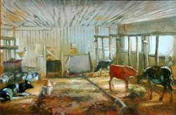 Keith Gunderson - Corner of the Barn