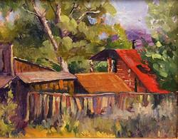 Louise Sackett - Bear Paw Backyard