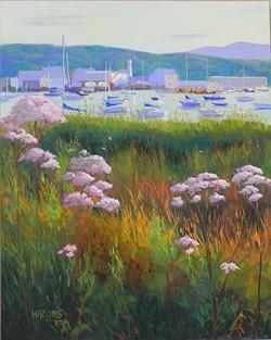 Jean Hirons - Harbor Sundown