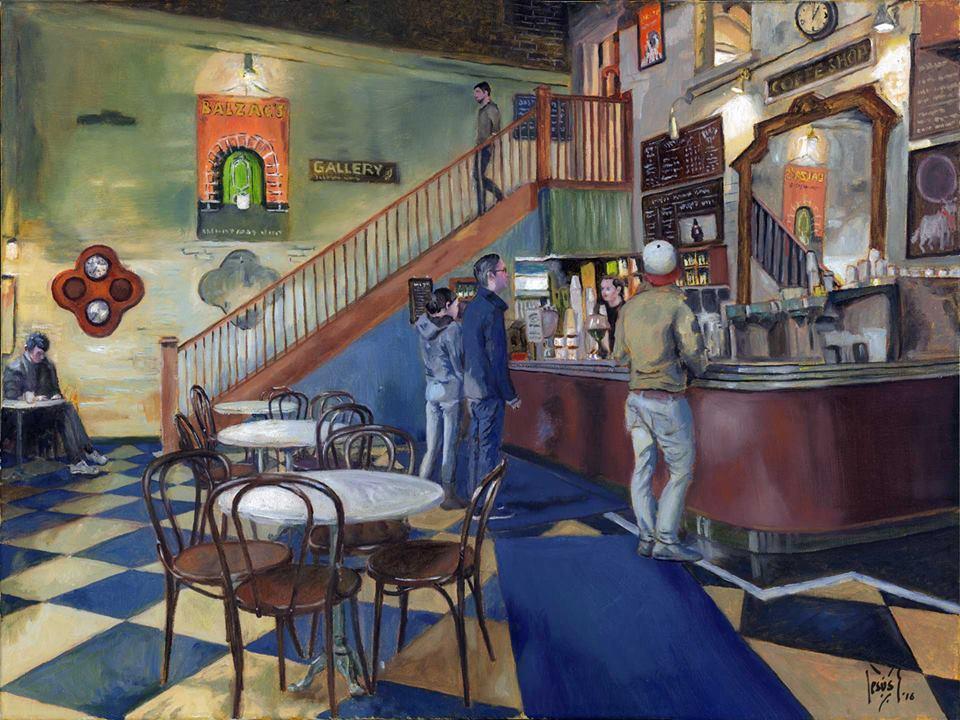 Jesus Estevez - Balzac's cafe, Toronto