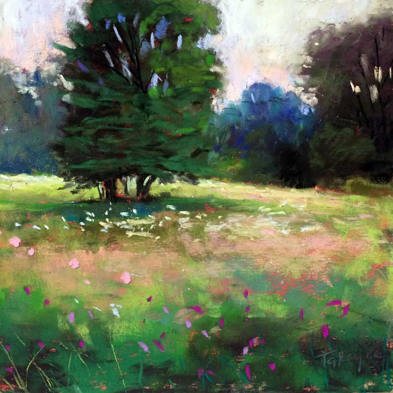Takeyce Walter - Summer Field and Trees