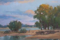 Igor Staritsin - Danube River Evening