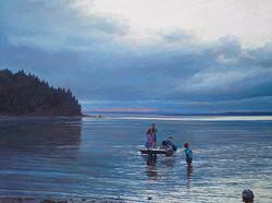 Josh Adam - Evening at the Float