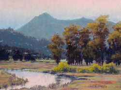 Clark Mitchell - Dawn's Early Light (pastel)