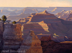 Janet Broussard - Grand Canyon Afternoon