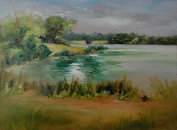 Donna Pierce-Clark - Beyond the Spillway, Early Morning