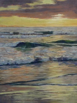 Clark Mitchell - Lapping Water (plein air)