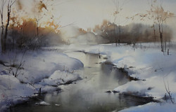 Ilya Ibryaev - Winter - Nature Plunged in a Dream