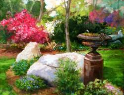 Blaney Harris - Spring Garden, Kentford Farm (plein air)