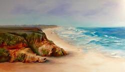 Donna Pierce-Clark - Beach Walk, Half Moon Bay