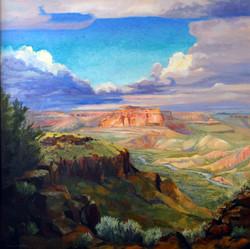 Nancy Paris Pruden - White Rock Canyon