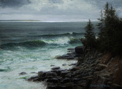 Joseph McGurl - Along the Acadian Coast (plein air)