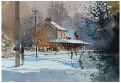 Michał Jasiewicz - An Old Station