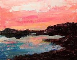 Karla Nolan - Shoreline Sunset